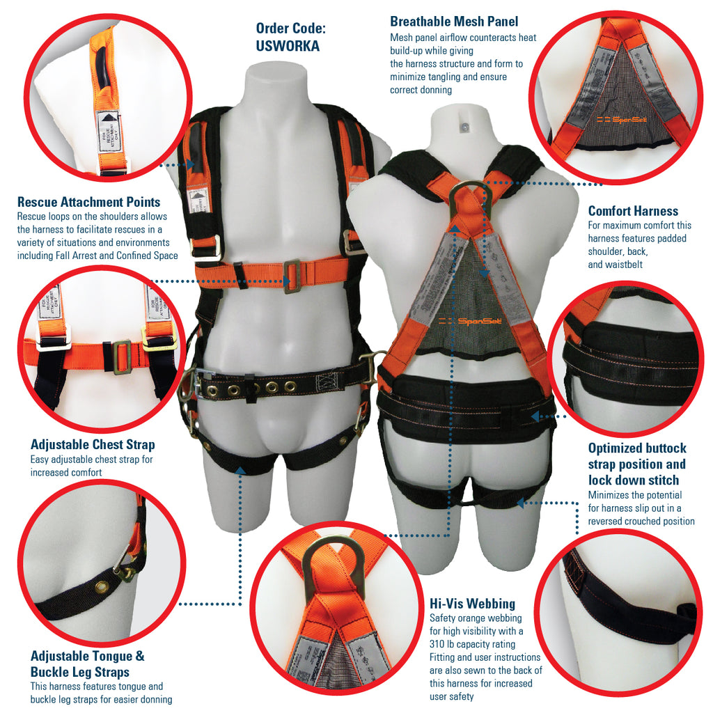 Spanset Worka Harness