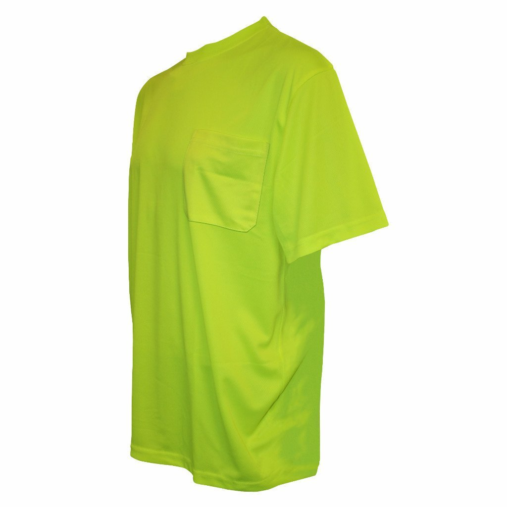 Cordova Cor-Brite Short Sleeve T-Shirt Lime Non- Rated Lime