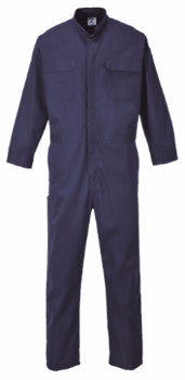 Portwest Bizweld Flame Resistant Coverall Navy Blue 9.5 OZ