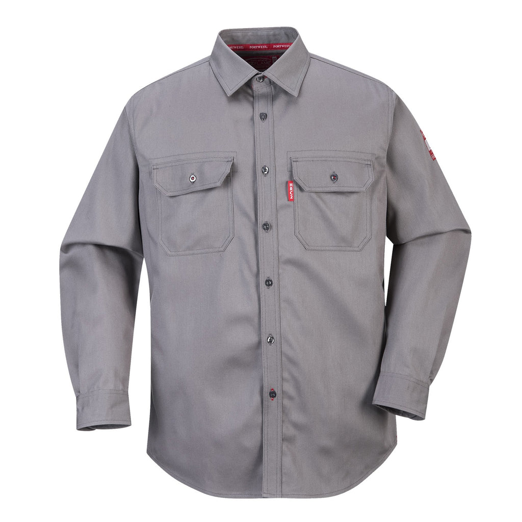 PORTWEST BIZFLAME LONG SLEEVE BUTTON DOWN ARC2 7 Oz