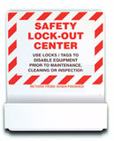 Heavy-Duty Aluminum Big Pocket Lockout Center