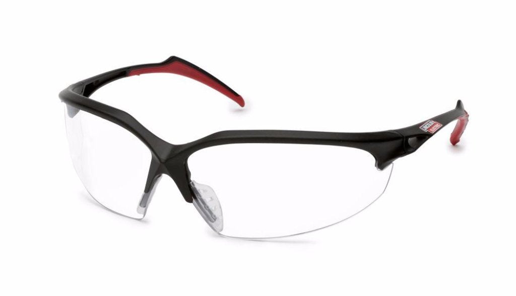 Nemesis V30 Black Frame Pink Tips Anti-Fog Lens