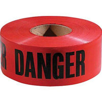 Danger Do Not Enter Tape 3'' x 1000