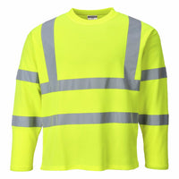 Hi-Vis T-Shirt Long Sleeve Class 3
