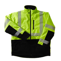 Xtreme Visibility Soft Shell No Hood Jacket Class 3