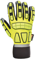 Hi-Vis Safety Impact Glove Unlined