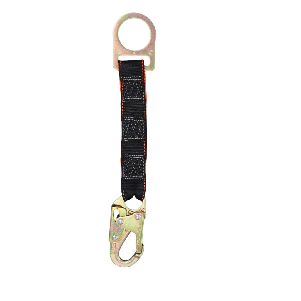 "Spanset 18"" Extension Lanyard with Safety Hook & D Ring"