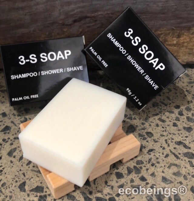 3S-SOAP - SHAMPOO, SHOWER, SHAVE!