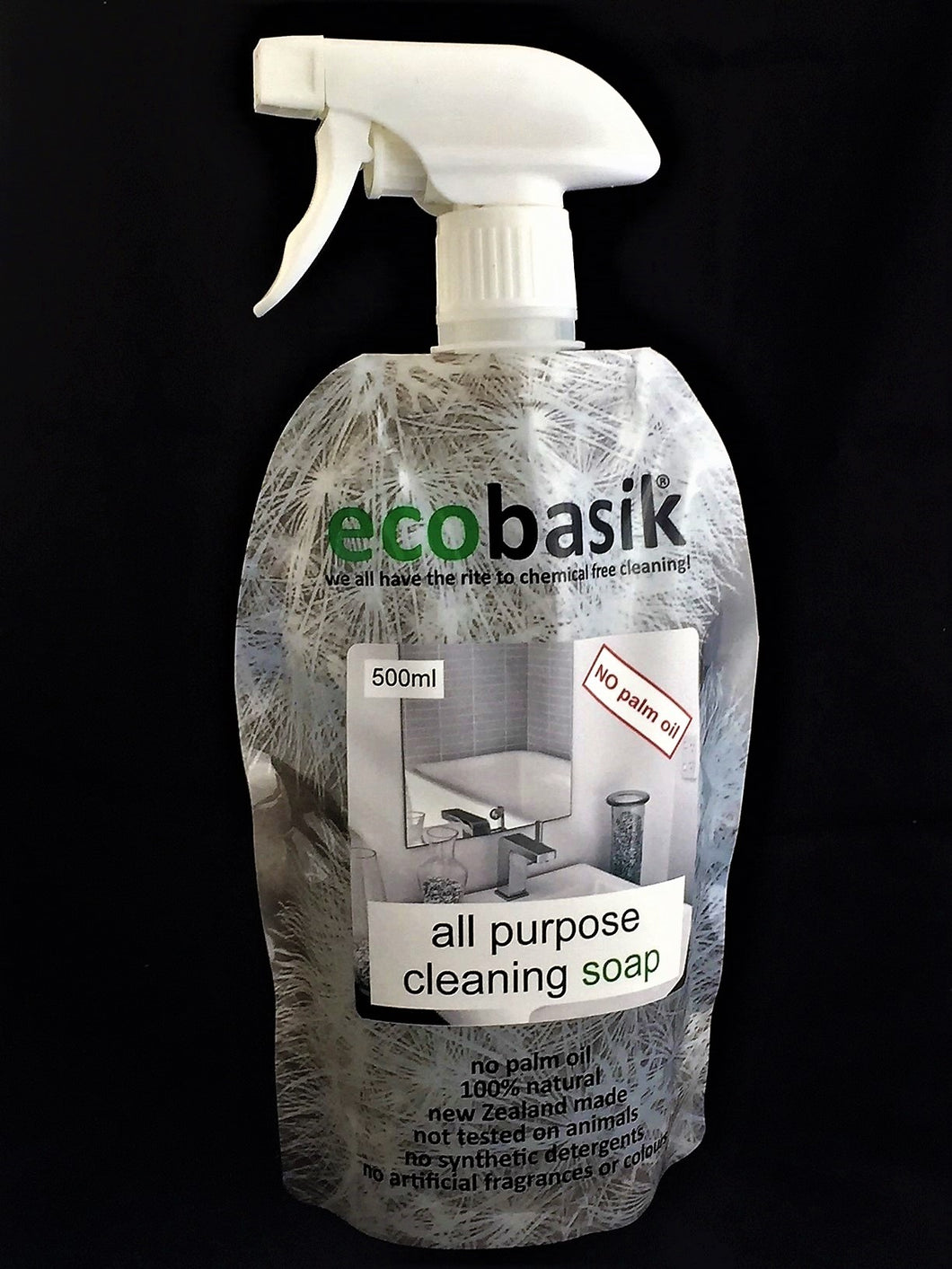 ecobasik - all purpose cleaning soap spray - SAFE cleaning for the home!