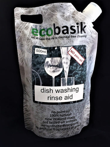 ecobasik - dish washing rinse aid - SAFE cleaning for the home!