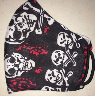 Skull & cross bones big print