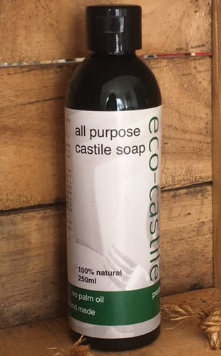 eco-castile - all purpose castile soap | safe cleaning for all items