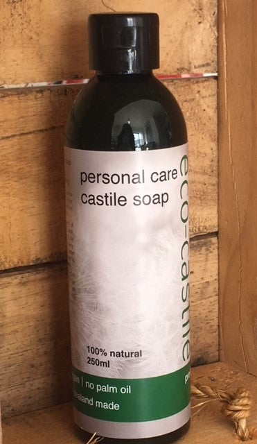 eco-castile - personal care castile soap - NZ Made