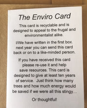 The Enviro Card - Birthday Card 3