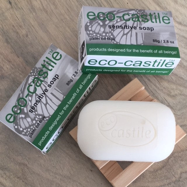 eco-castile - sensitive bar soap - NZ Made
