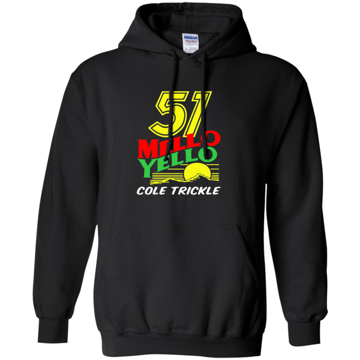 51 MELLO YELLO  DAYS OF THUNDER Hoodie 8 oz