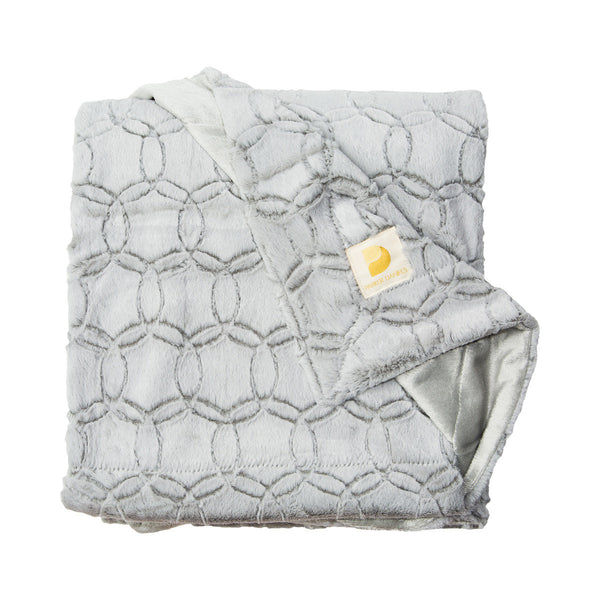 Plush Throw Blanket (Fog)