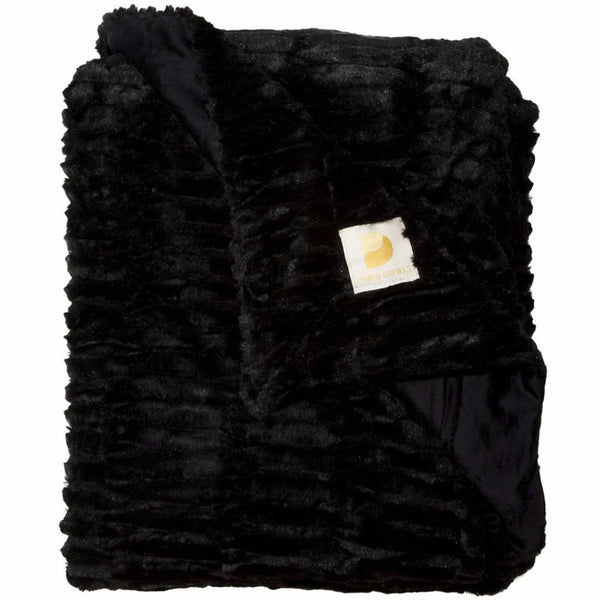 Plush Throw Blanket (Onyx)
