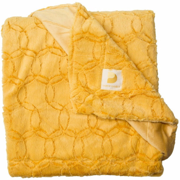Plush Throw Blanket (Gold)