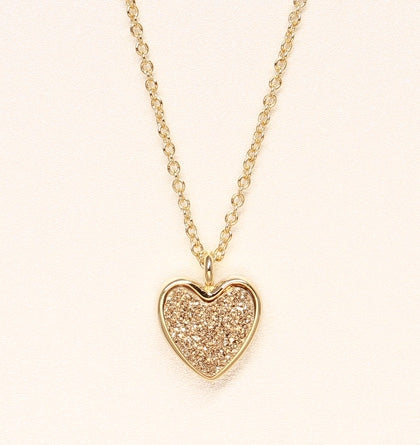Sweetheart Necklace - Gold