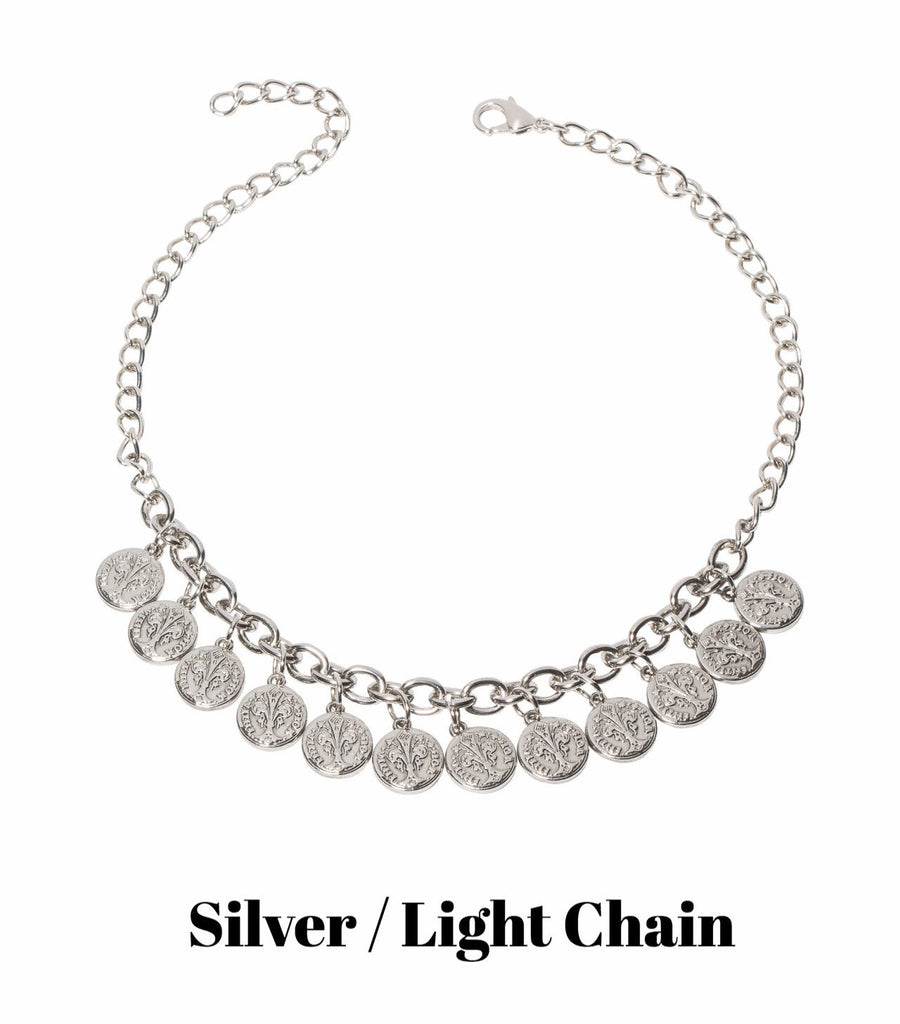 Florin Necklace (Gold or Silver)