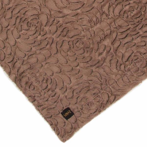 Rose Print Blanket in Toffee