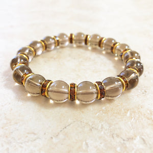 Smokey Quartz Gemstone Bracelet