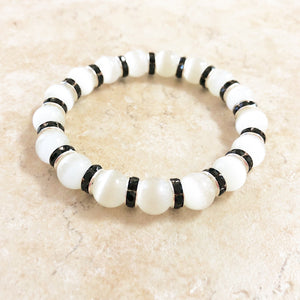 Cat's Eye Quartz Gemstone Bracelet