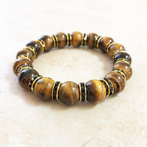 Chunky Tiger's Eye Gemstone Bracelet