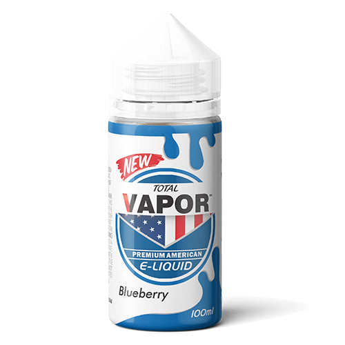 Total Vapor E-Liquid Blueberry