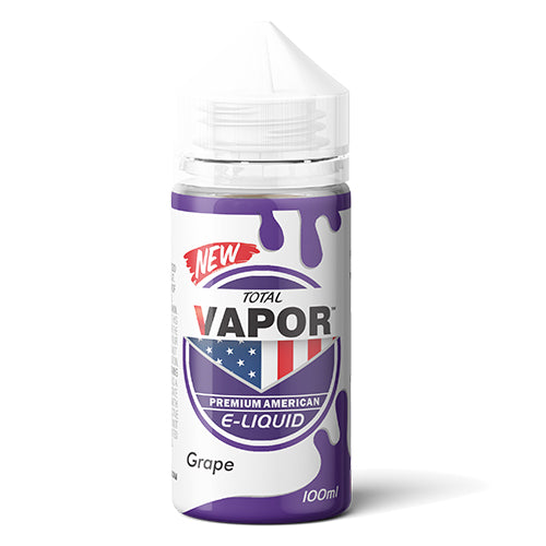 Total Vapor E-Liquid Grape