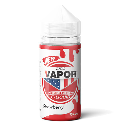 Total Vapor E-Liquid Strawberry