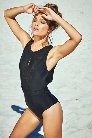 Lace up One Piece