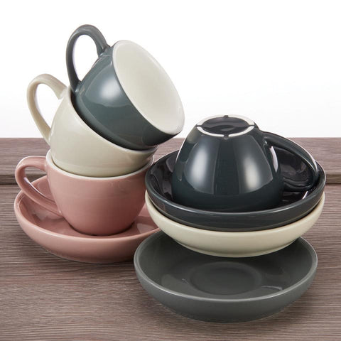 Espresso Cups and Saucers Set - Easy Living Goods