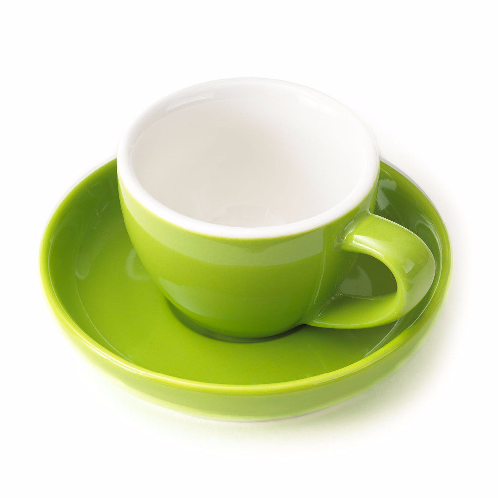 Single Espresso Cup and Saucer (By Color) - Easy Living Goods