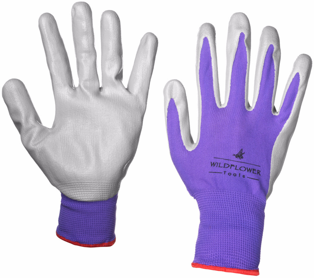 Nitrile Gardening Gloves | 2 Pair Pack - Easy Living Goods