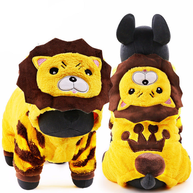 Little Lion King Dog Hoodie