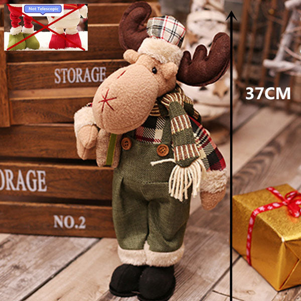 Retractable standing santa claus christmas decorations animal hug retractable standing santa claus christmas decorations fandeluxe Choice Image