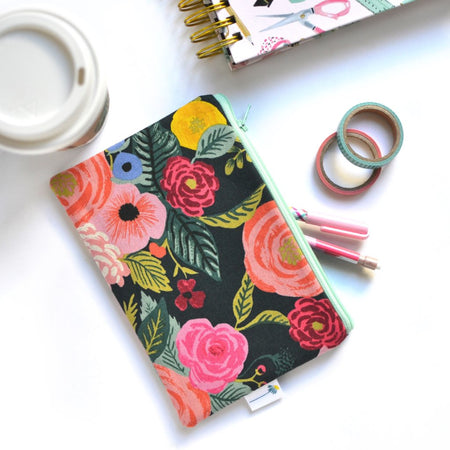 Juliet Rose Zipper Pouch