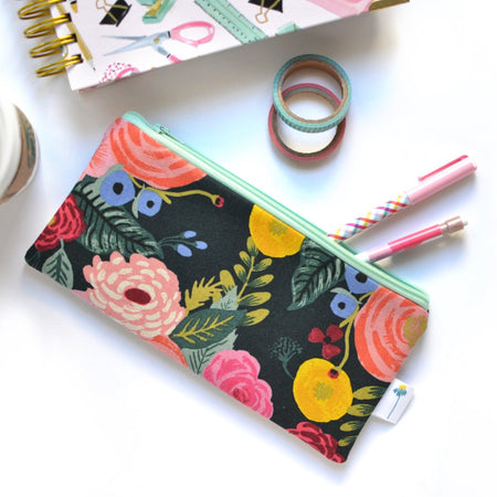 Juliet Rose Pencil Pouch