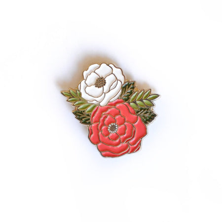 Irene Floral Cluster Pin