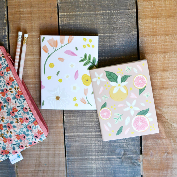 Citrus Bloom Pocket Notebooks
