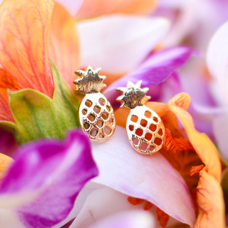 Petite Pineapple Earrings