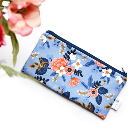 Birch Floral Pencil Pouch