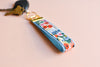 Garden Party Key Fob in Blue