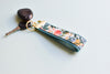 Garden Party Key Fob in Aqua