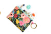 Juliet Rose Floral Clip Ring Pouch