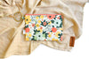 Fall Floral Clip Ring Pouch
