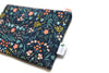 Navy Wildwood Zipper Pouch