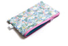 Blue Wildflower Zipper Pouch